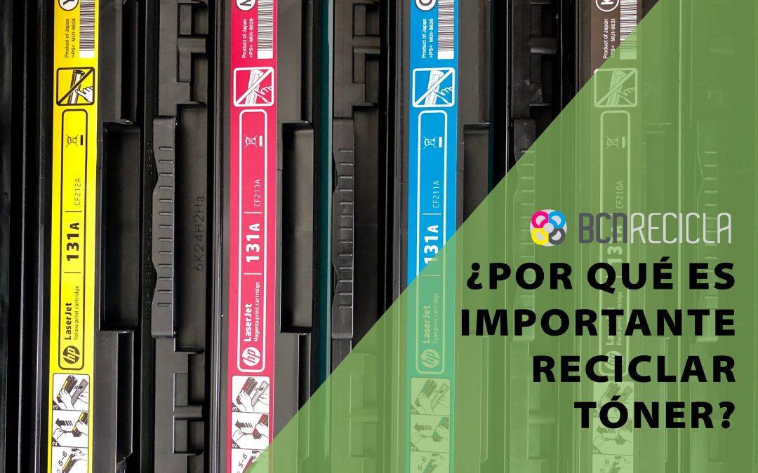 ¿Por qué es importante reciclar tóner?