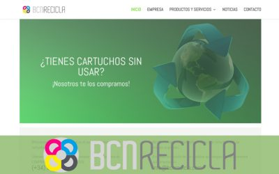 Reciclaje de toners y mucho más en la nueva web de BCNRecicla