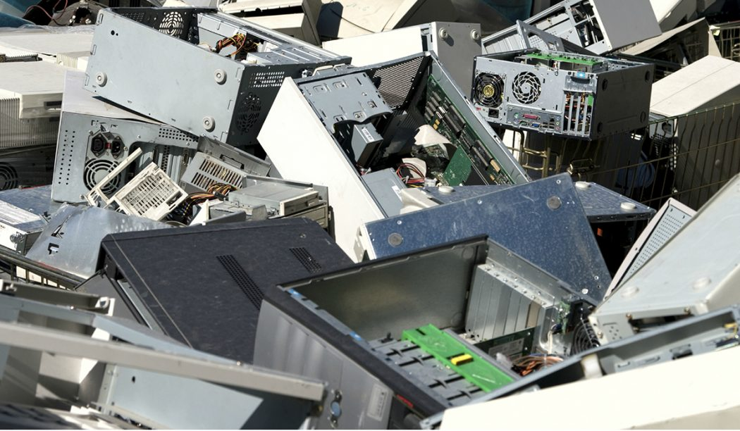 Reciclaje de material informático